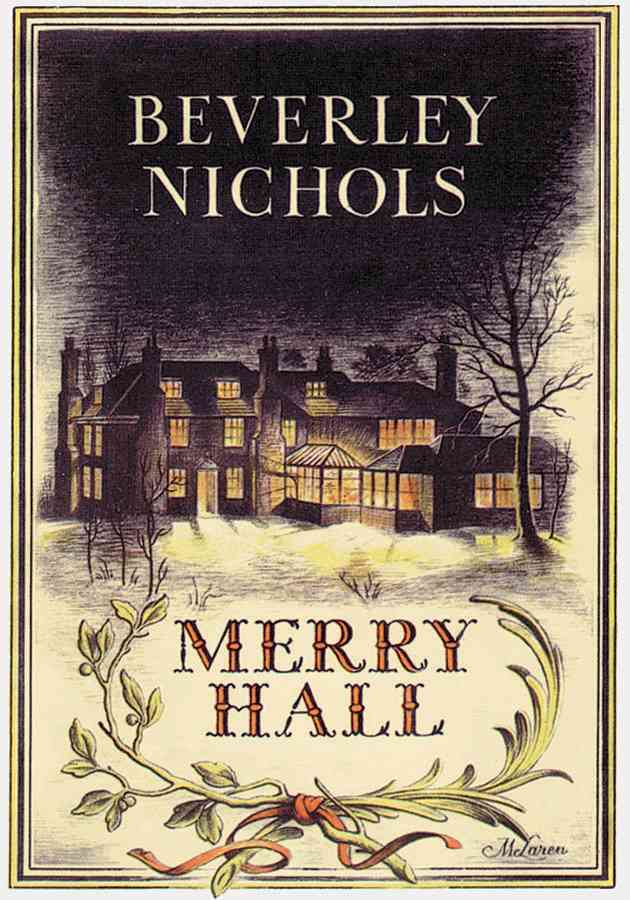Merry Hall By Nichols, Beverley (COR)